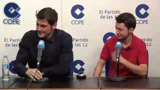 Reto de memoria a Casillas en COPE | 09/01/2015
