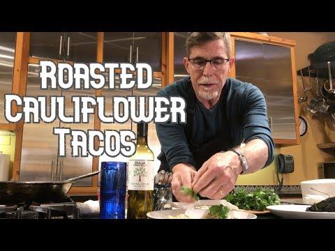 Rick Bayless Taco Tuesday: Roasted Cauliflower Rajas Tacos