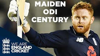 Jonny Bairstow's Maiden ODI Century v West Indies 2017 - Full Highlights