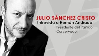 Julio Sánchez Cristo entrevista a Hernán Andrade