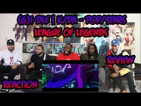 (G)I-DLE | K/DA - POP/STARS (ft Madison Beer, Jaira Burns) | League of Legends | Reaction