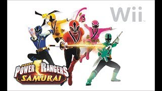 Power Rangers Samurai Nintendo Wii