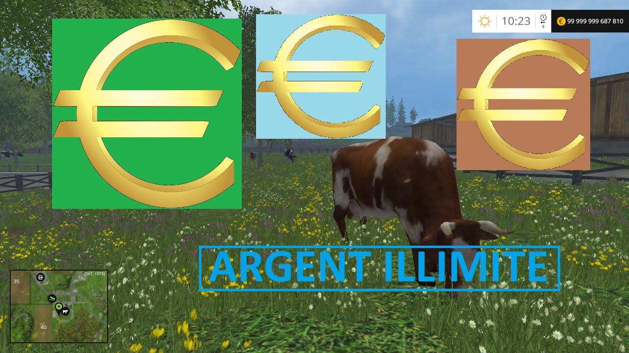 Argent illimite farming simulator 2015