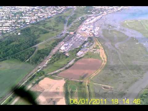 1/6/2011 - Two Tree Island RC Onboard Camera - Parkzone Trojan T28D