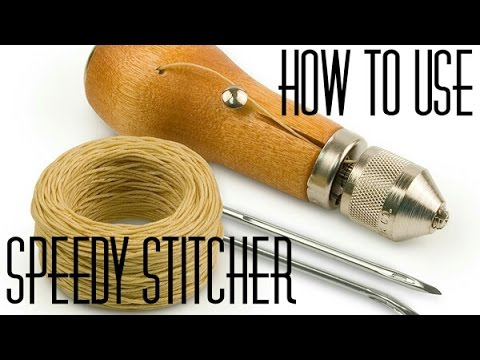 How To: Sew using a Speedy Stitcher