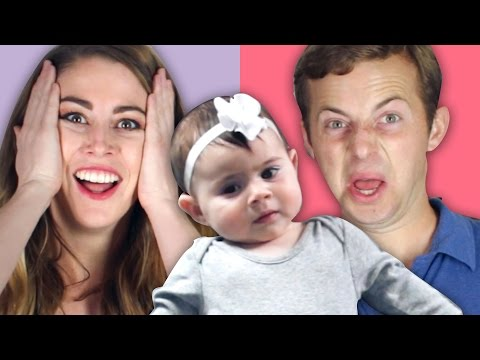 Thumbnail: People Change A Diaper For The First Time • Married Vs. Single