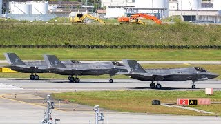 U.S. F-35B Fighters Conduct Show of Force in Response to North Korea Missile Launch