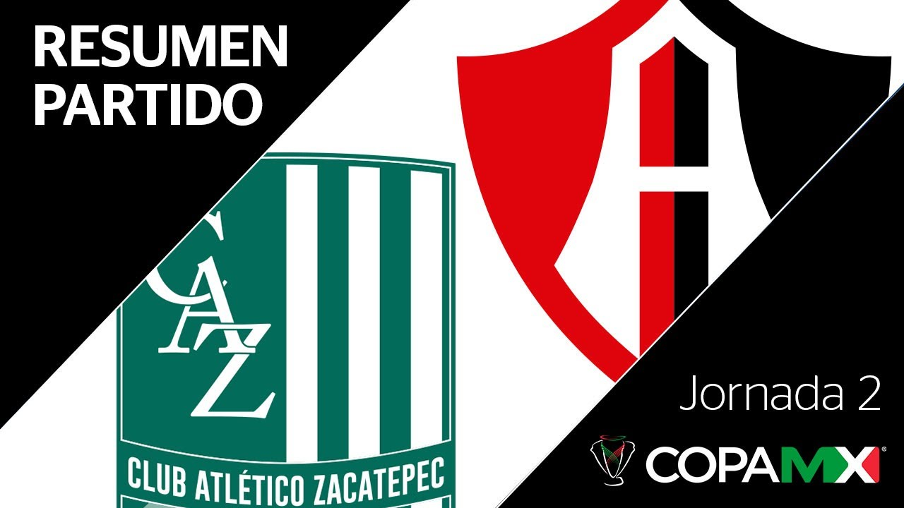 Resumen Y Goles Atletico Zacatepec Vs Atlas Copa Mx Jornada 2 Youtube