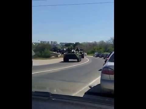 Колонна российской военной