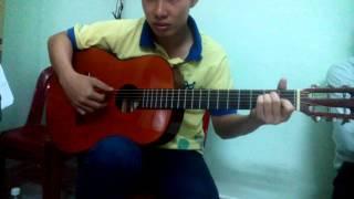 Thành phố mưa bay-Bằng Giang-Guitar cover