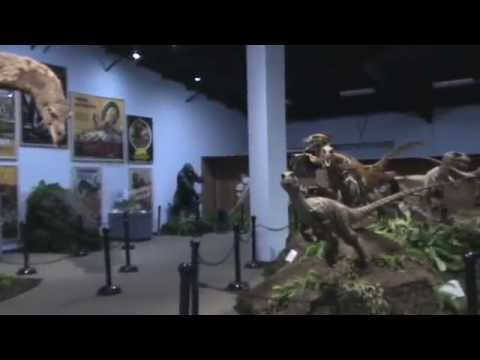 The Best Dinosaur Movie Museum in the World