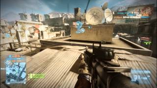 [Gameplay] Battlefield 3 Aftermath Talah Market Conquest PC {1080P}