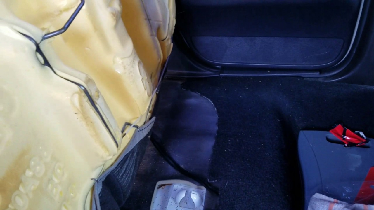 P71 Rear Seat Removal Youtube