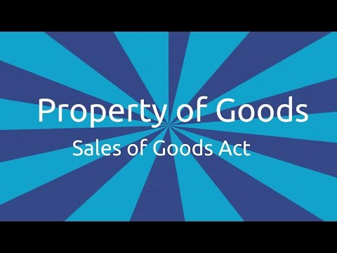 What is Property of Goods | Transfer of Ownership and Delivery | CA CPT | CS & CMA Foundation