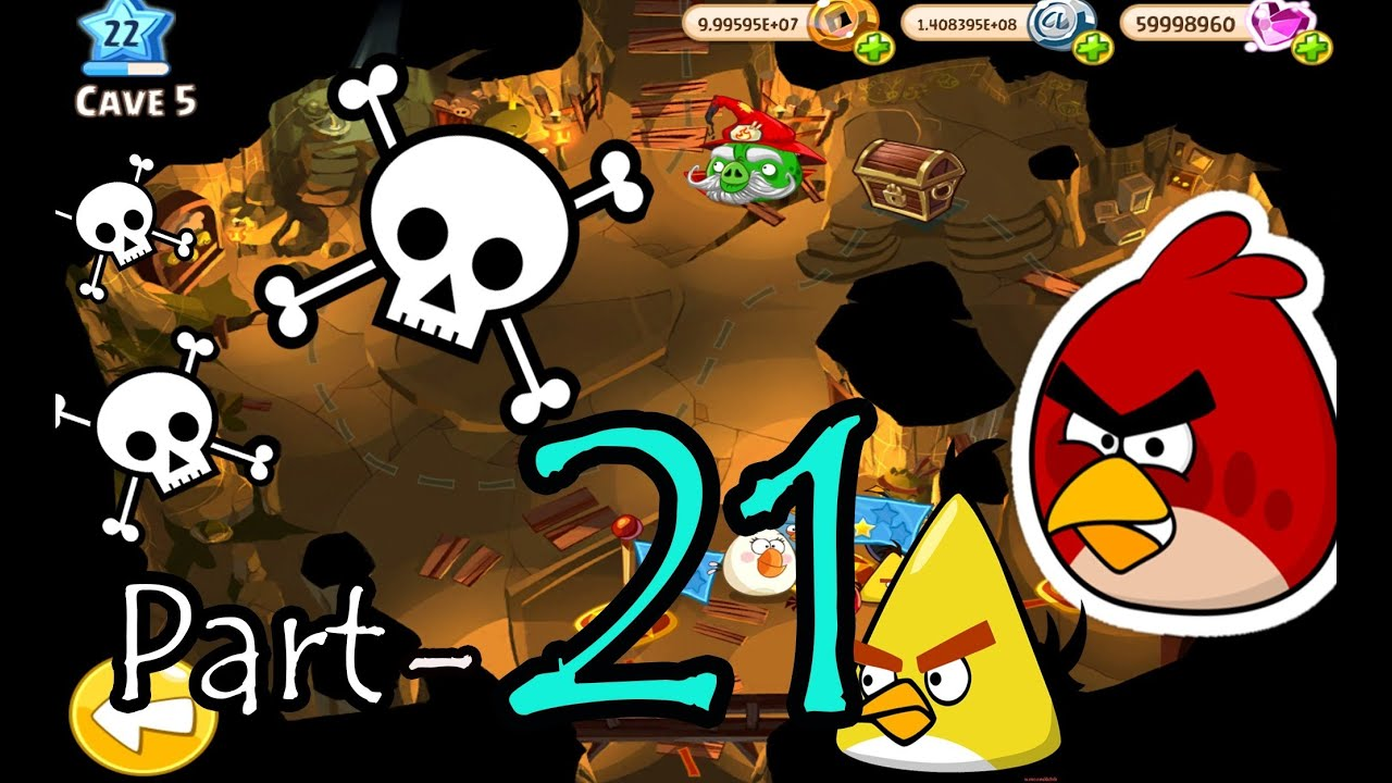 Angry Birds Epic: Part-21 Gameplay Chronicle Cave 5 ...