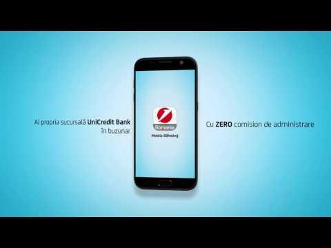 UniCredit Bank – Cum să activezi aplicația Mobile Banking