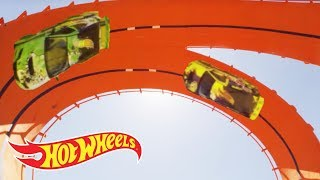 World Record: Double Loop Dare at the 2012 X Games Los Angeles | Hot Wheels