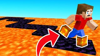 We Can WALK ON LAVA With These Minecraft BOOTS!