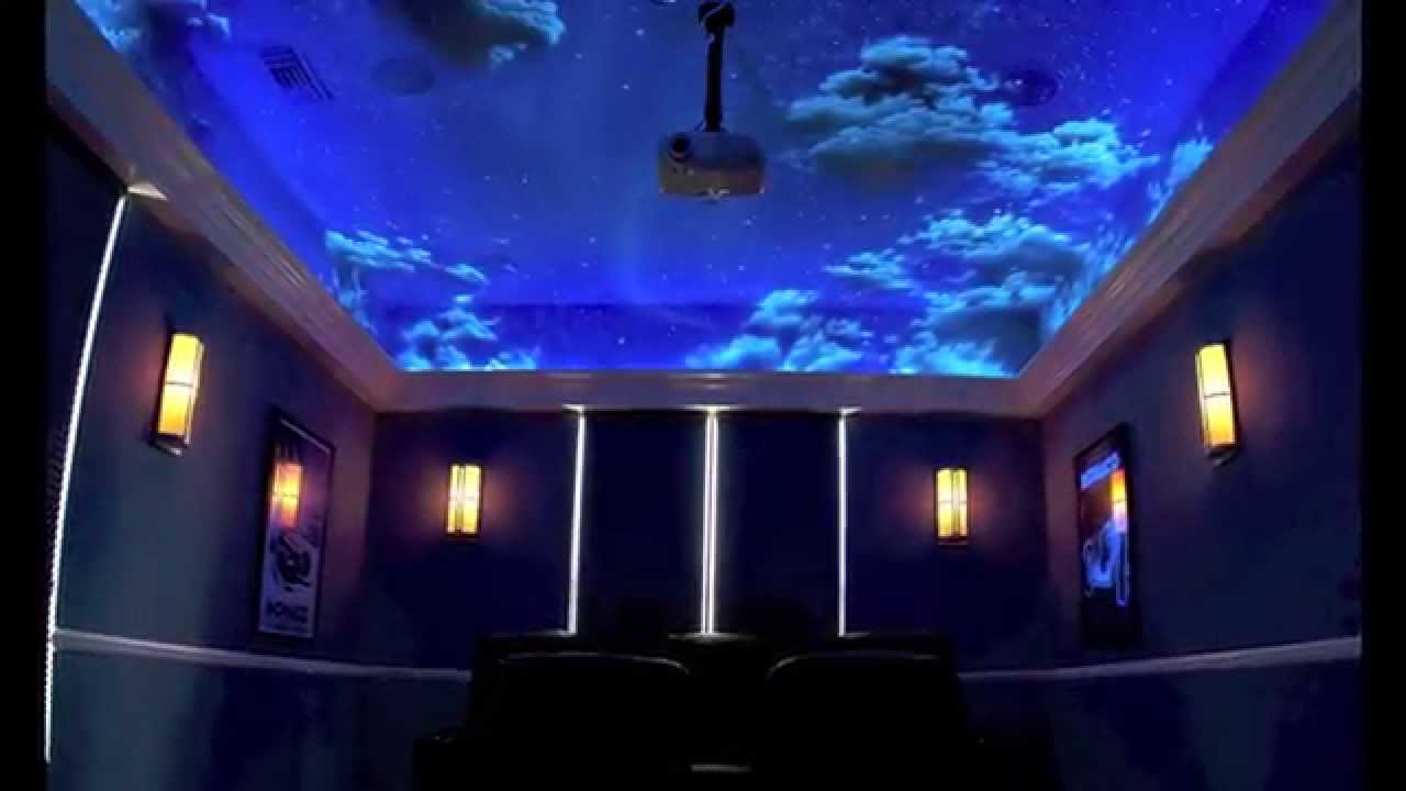 Sky murals clouds and ceiling murals youtube for Ceiling cloud mural