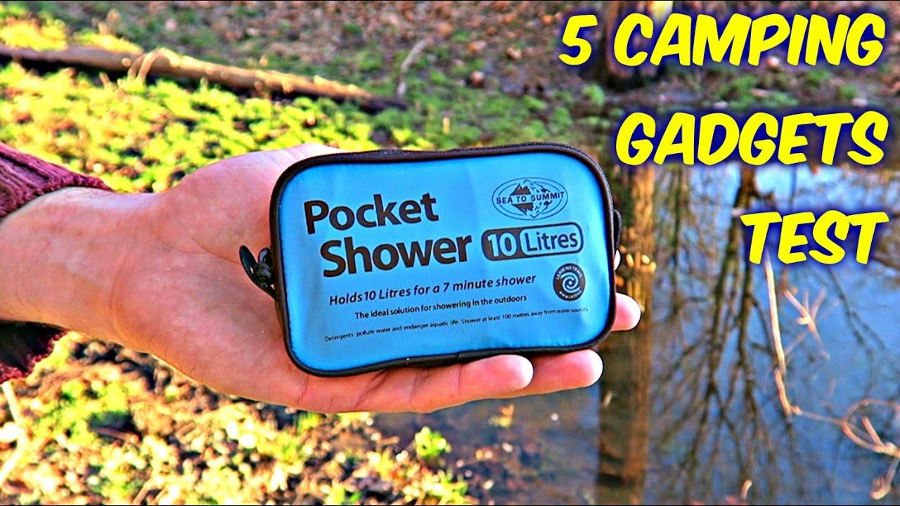 5 camping gadgets