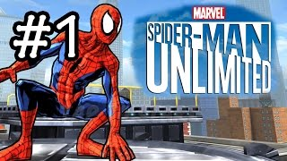Spider-Man Unlimited Gameplay Walkthrough Part 1 - The Beginning