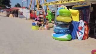 Голубицкая 2016 - 06- 28 - Обстановка на Центральном пляже(Голубицкая центральный пляж, обстановка на 28.06.16 , Пляж , море., 2016-06-28T09:25:51.000Z)