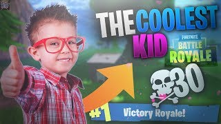 I met the coolest kid ever in RANDOM DUOS! (I BOUGHT HIM A SKIN)