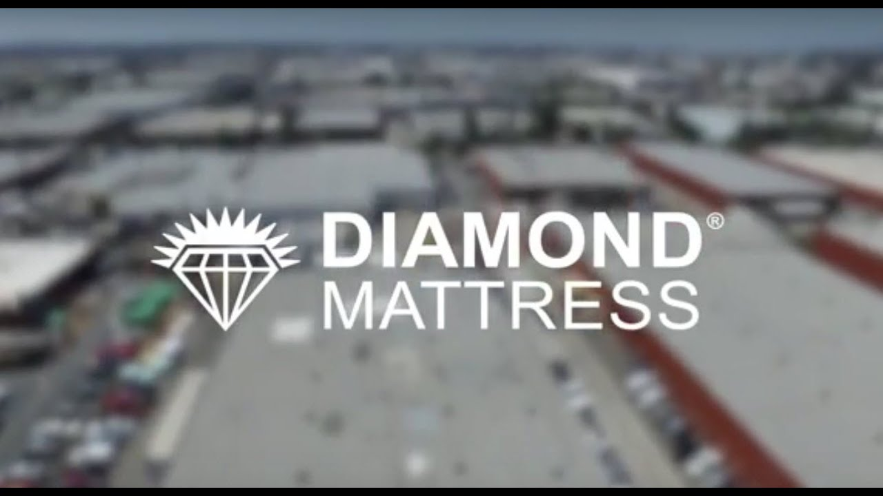 diamond mattress factory tour video youtube