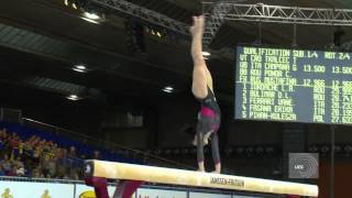 Catalina PONOR (ROU), EC Brussels 2012, beam