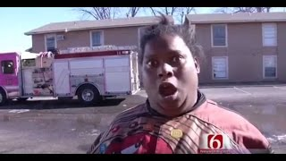 Funny News Interview Building Is On Fire Not Today Girl, Surfer Pitted Guy, BAM Car Crash Guy