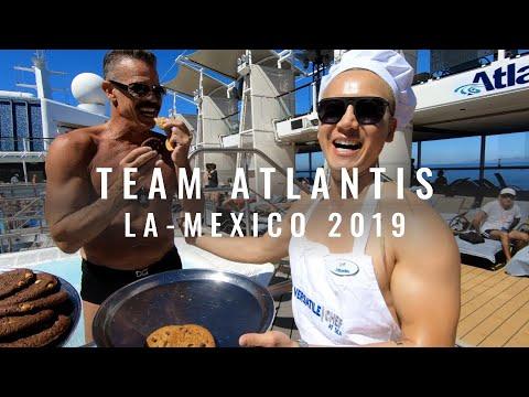 Team Atlantis! LA-Mexico 2019 #Gay #Cruise   JustJoeyT #Travel