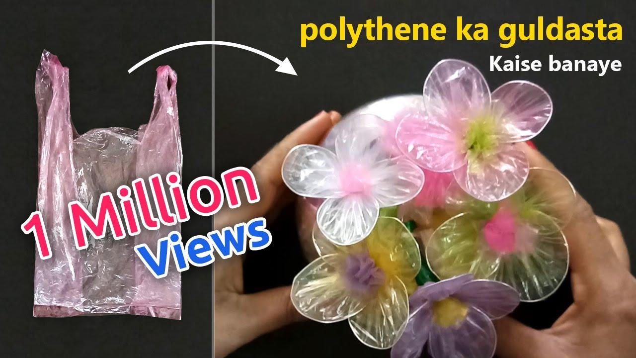 flower banana  polythene flowers  plastic flowers