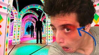 Download Corri em um labirinto de espelhos e deu ruim... - vlog doido Mp3