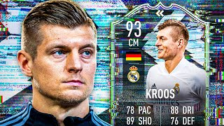 FINALLY IN THE GAME! 🥳 93 FLASHBACK TONI KROOS PLAYER REVIEW! - FIFA 21 Ultimate Team