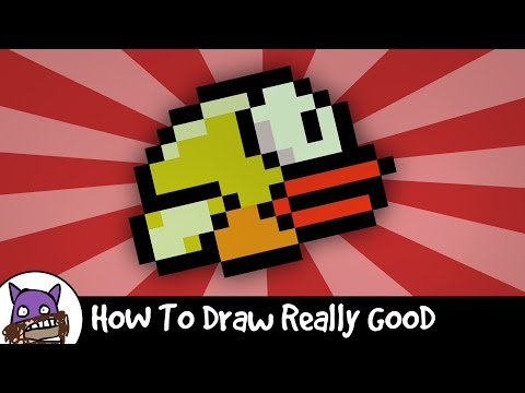 ✐ How To Draw Really Good - Flappy Bird ✐
