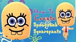 Mii-Maker: Erstellen Von Spongebob Schwammkopf!