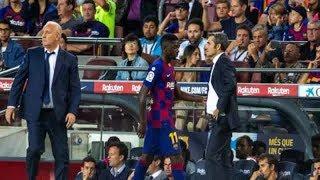 サッカーキング:バルサ指揮官、デンベレの退場処分に言及…「彼への判定は不可解なものだ」 - 毎日新聞
