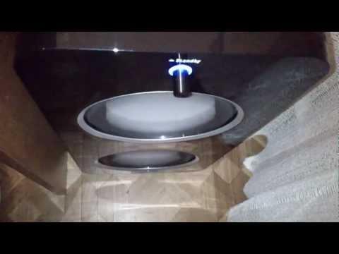 Teufel Concept D 500 THX Subwoofer Bass Excursion Test