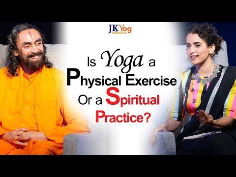 Is Yoga a Physical Exercise or a Spiritual Practice? - Sanya Malhotra asks Swamiji