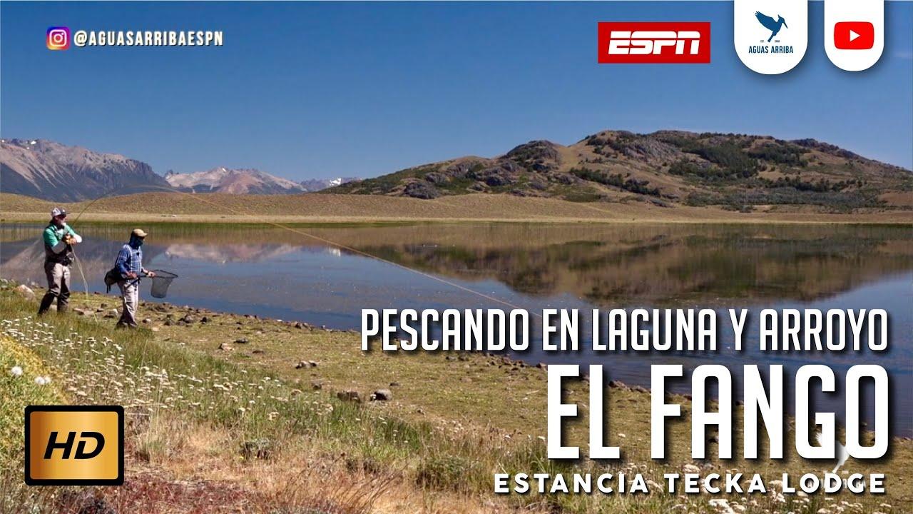 Pesca en Laguna y Arroyo el Fango Estancia Tecka Lodge Aguas Arriba ESPN Patagonia Argentina T14 E15