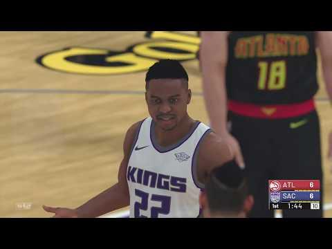 NBA 2K19 Atlanta Hawks vs Sacramento Kings | NBA 2K19 Gameplay PS4 Pro