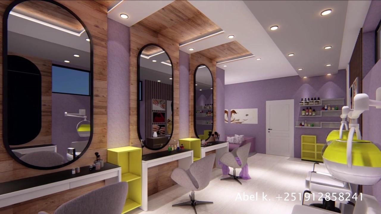 High Class hair Salon Interior – Juba,3D Presentation   Salon và các thông tin mới nhất
