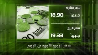 بالفيديو..أسعار العملات أمام الجنيه اليوم السبت 10-12-2016