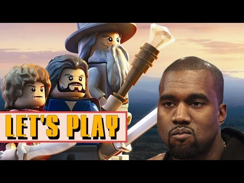 B*tch You Ain't A (LEGO) Hobbit! - Let's Play Lego The Hobbit