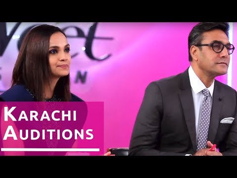 Miss Veet Pakistan 2017 - Episode 1 | Funny Auditions in Karachi | Hareem Farooq, Adnan Siddiqui
