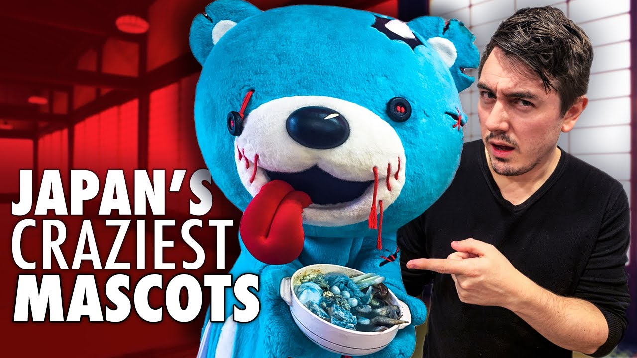 Japan's Craziest Mascots Are Horrifying - Japan's mascots are a masterclass in creativity and horror. And some are a lot more frightening than others. In this video we uncover 10 of the scariest creatio