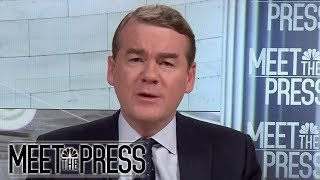 Sen. Michael Bennet: 'No Question' Trump's Comments Were Racist (Full) | Meet The Press | NBC News