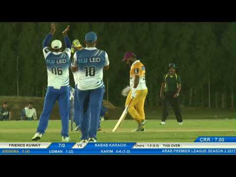 Krishna Satpute | Batting | Arab Premier League 2017, UAE