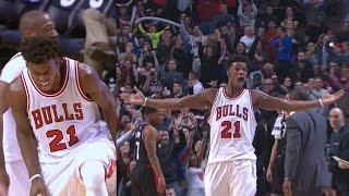 Jimmy Butler 42 Pts! Seals The Game in OT Raptors vs Bulls
