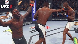 Anthony Johnson Is No Joke! He's Mad At Me! EA Sports UFC 2 Ranked Gameplay